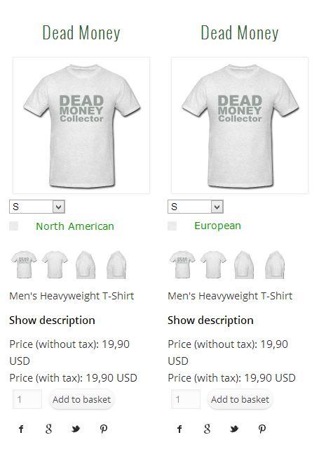 Shop differences